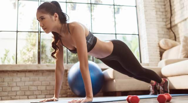 Home fitness: il modo ideale di allenarsi rimanendo in casa