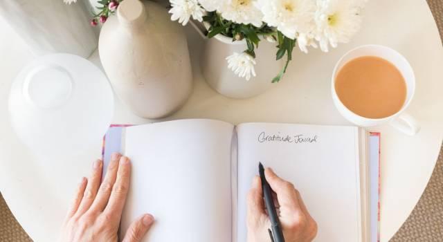 Il diario della gratitudine: cos'è e come scriverlo per sentirsi meglio