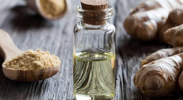 Olio essenziale di zenzero: un concentrato dai mille benefici