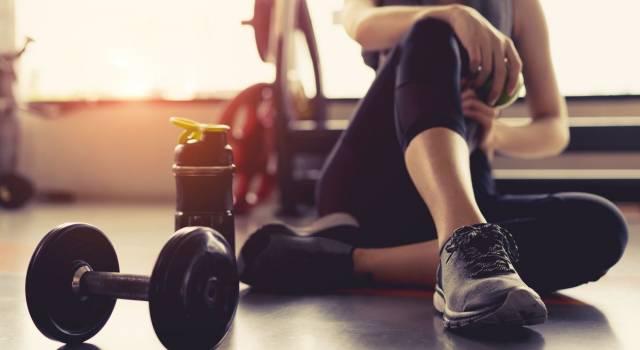 Quali attrezzi servono per gli esercizi a casa