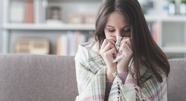 Influenza, picco a dicembre: prevenzione e rimedi naturali contro i sintomi
