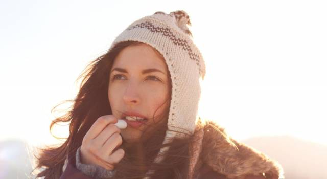 Labbra e freddo