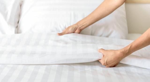 Ogni quanto bisogna cambiare le lenzuola?