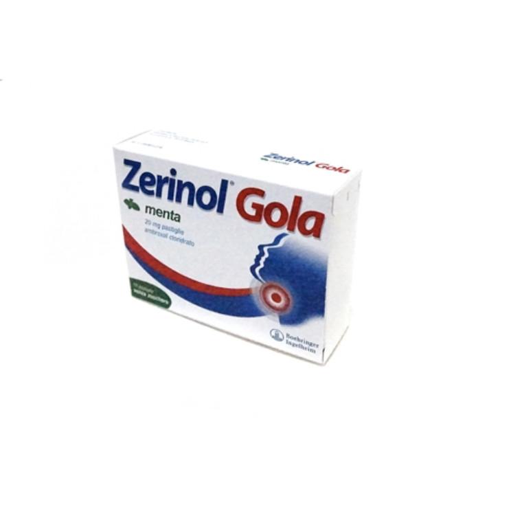 Zerinol Gola Pastiglie