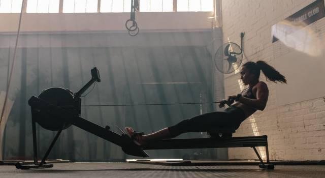 Vogatore: l'attrezzo più efficace e completo per allenarsi a casa