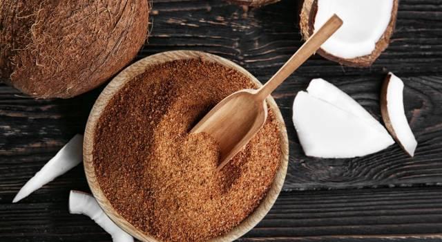 Le proprietà dello zucchero di cocco, un dolcificante naturale