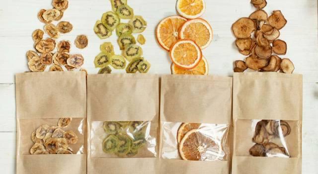 Frutta disidratata ed essiccata: proprietà e benefici
