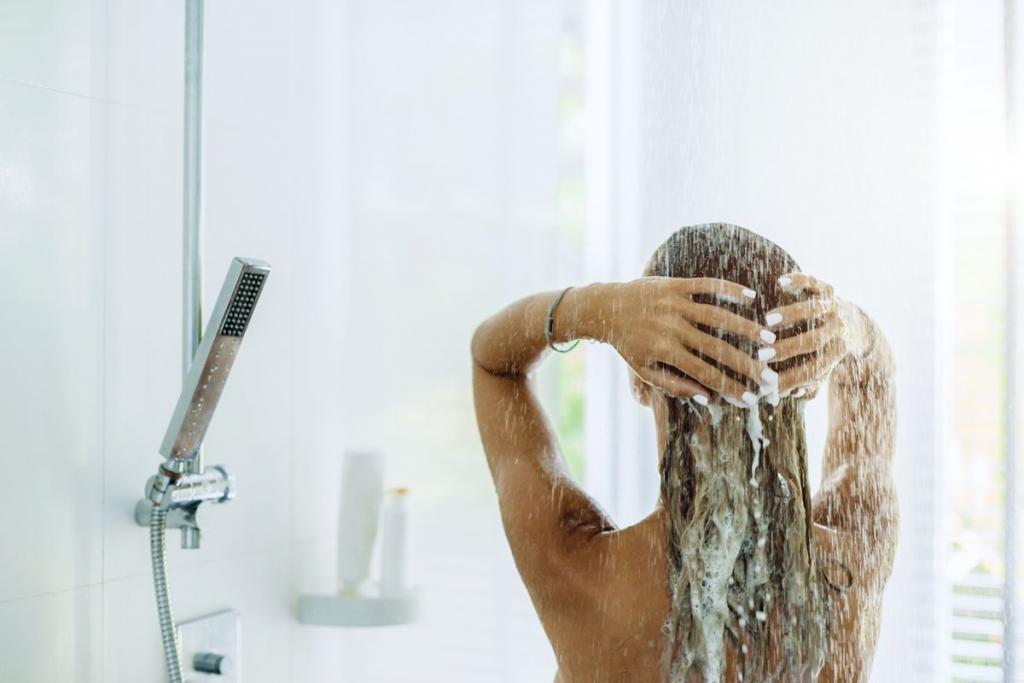 Lavarsi i capelli