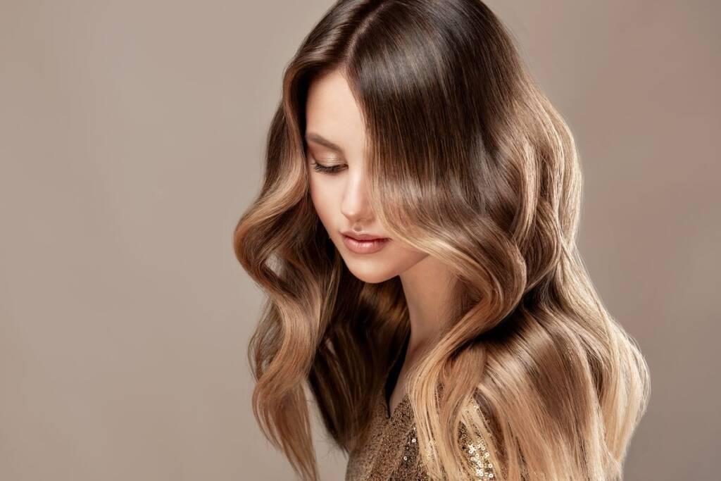Effetto shatush sui capelli
