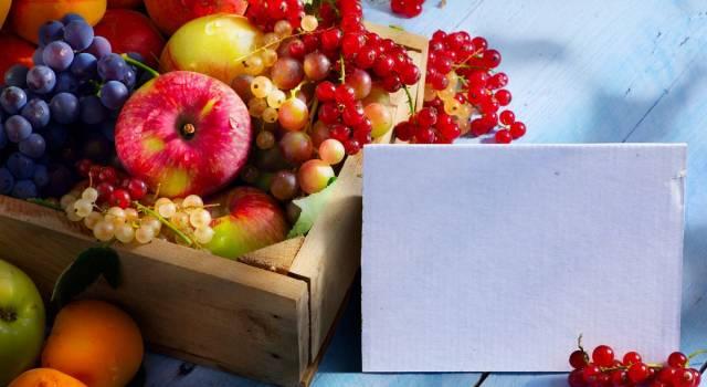 Frutta di stagione a luglio? Ecco quali prodotti scegliere