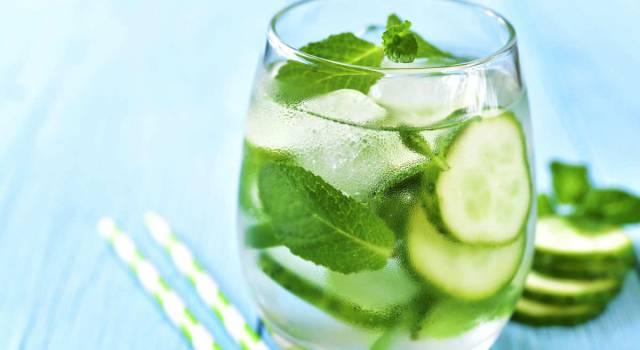 Acqua di cetriolo: perché fa bene e come prepararla