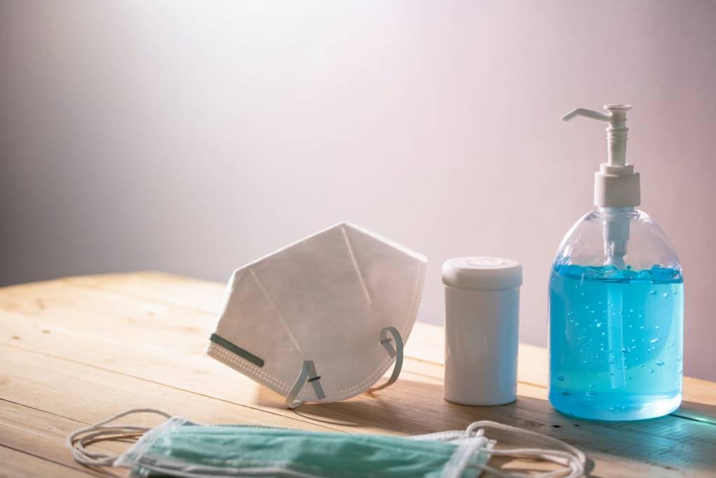 mascherine gel disinfettante