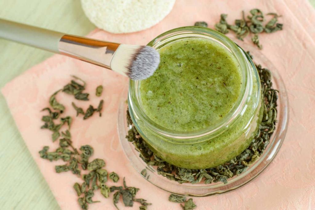 maschera tè verde