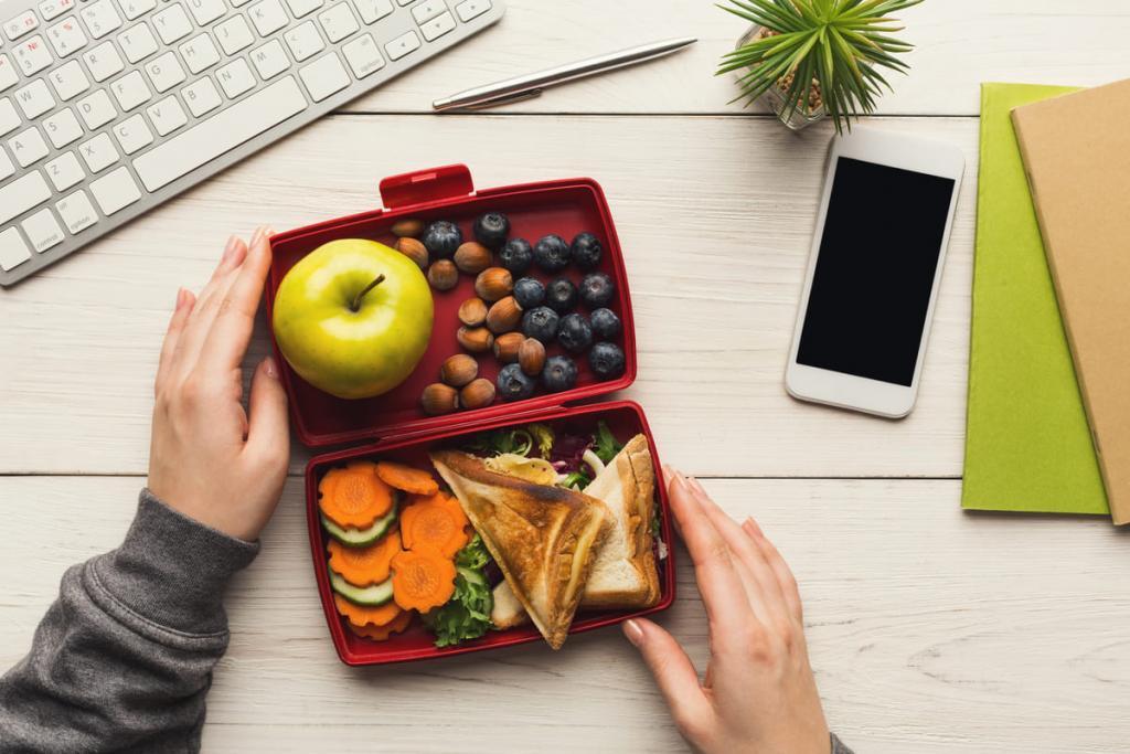 Pausa pranzo in ufficio