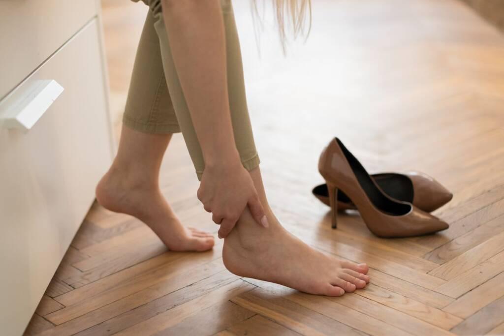 Sensazione gambe gonfie