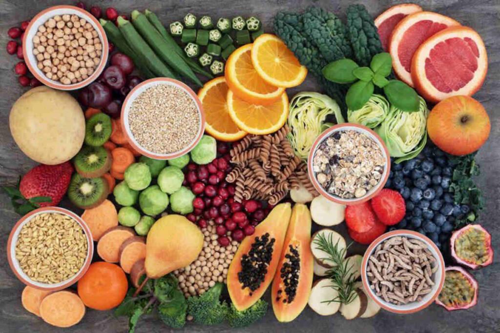 Alimenti ricchi e non di carboidrati