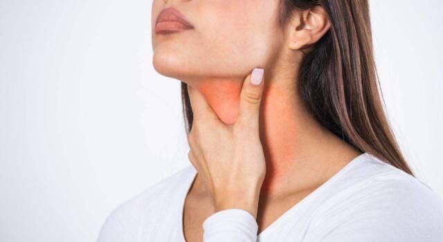 Gola infiammata: quali sono i sintomi e come curarla